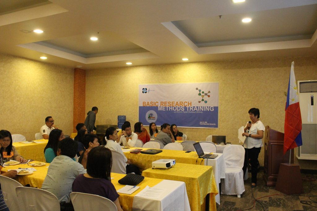 CHRDC Conducts Basic Research Methods Training for Caraga